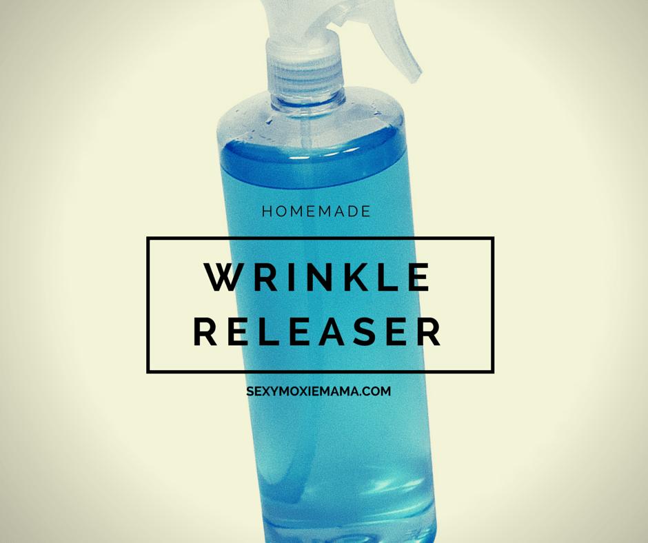 Homemade wrinkle releaser DIY