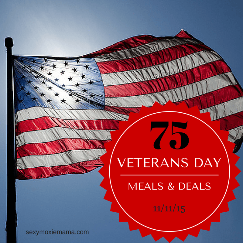 veterans day meals and deals