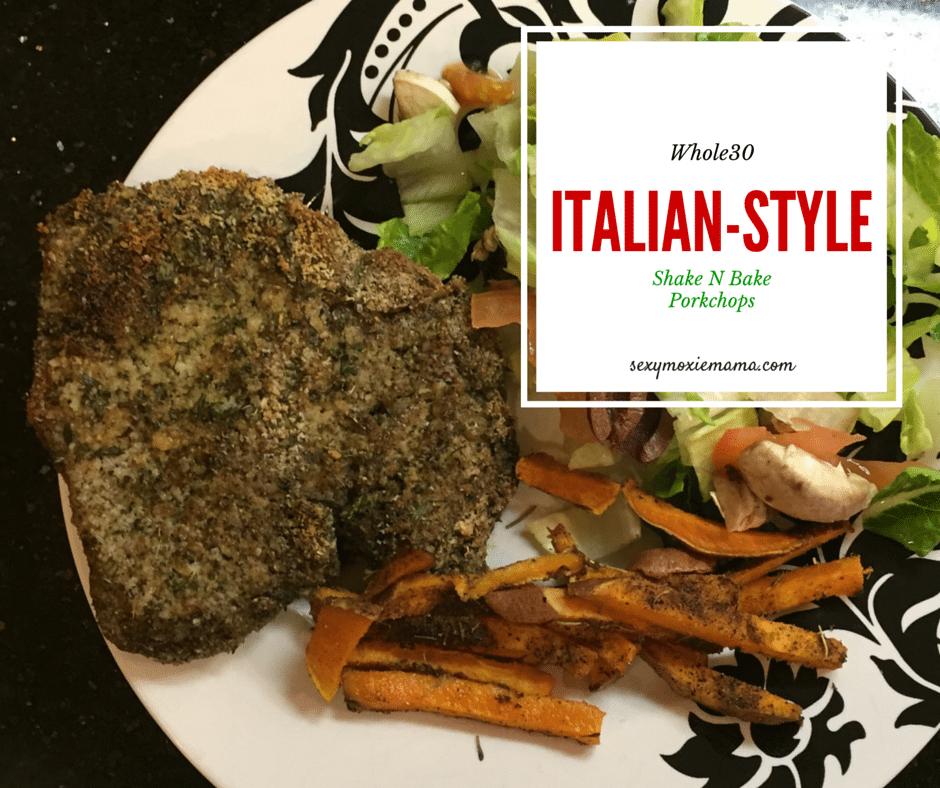 Whole30 Italian Style Shake N Bake Pork Chops