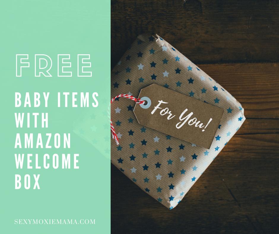 free amazon welcome box
