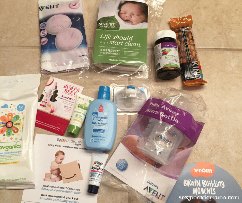 Free Baby Items Welcome Box