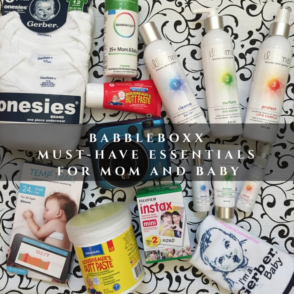 New Mom BabbleBoxx Products