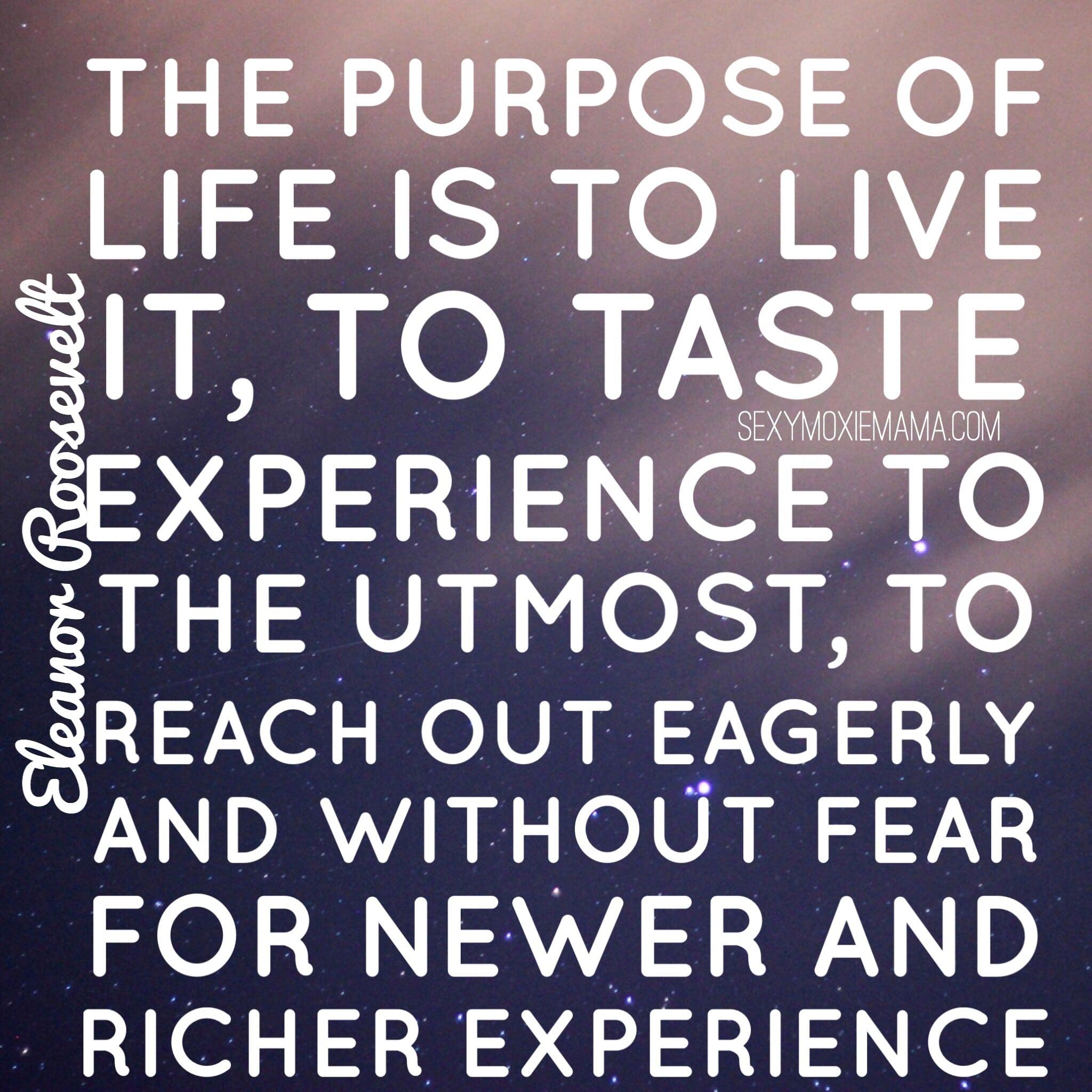 Eleanor Roosevelt quote life