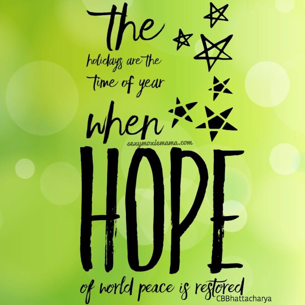 CBBhattacharya quote on hope