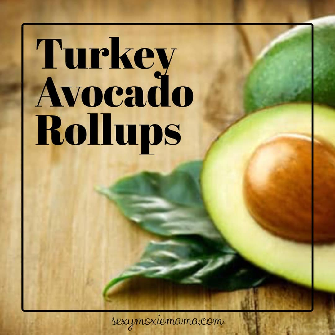 Turkey avocado rollup