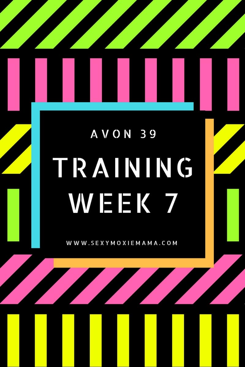 training week 7