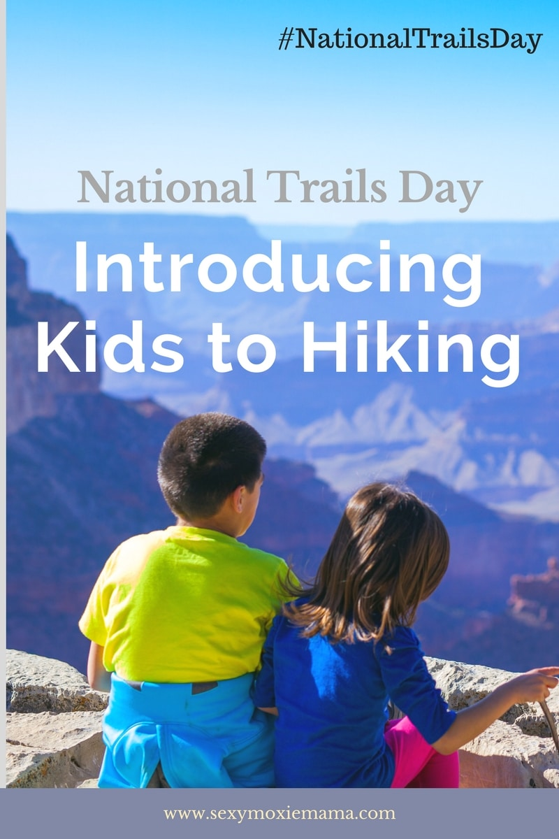 introducing kids to hiking