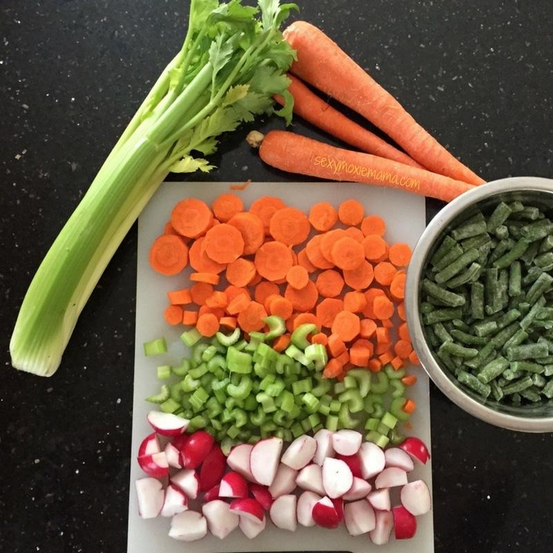 crockpot turkey soup vegetables