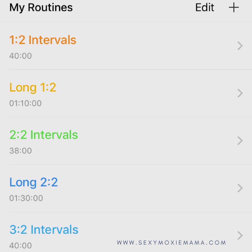 runwalkrun interval timer