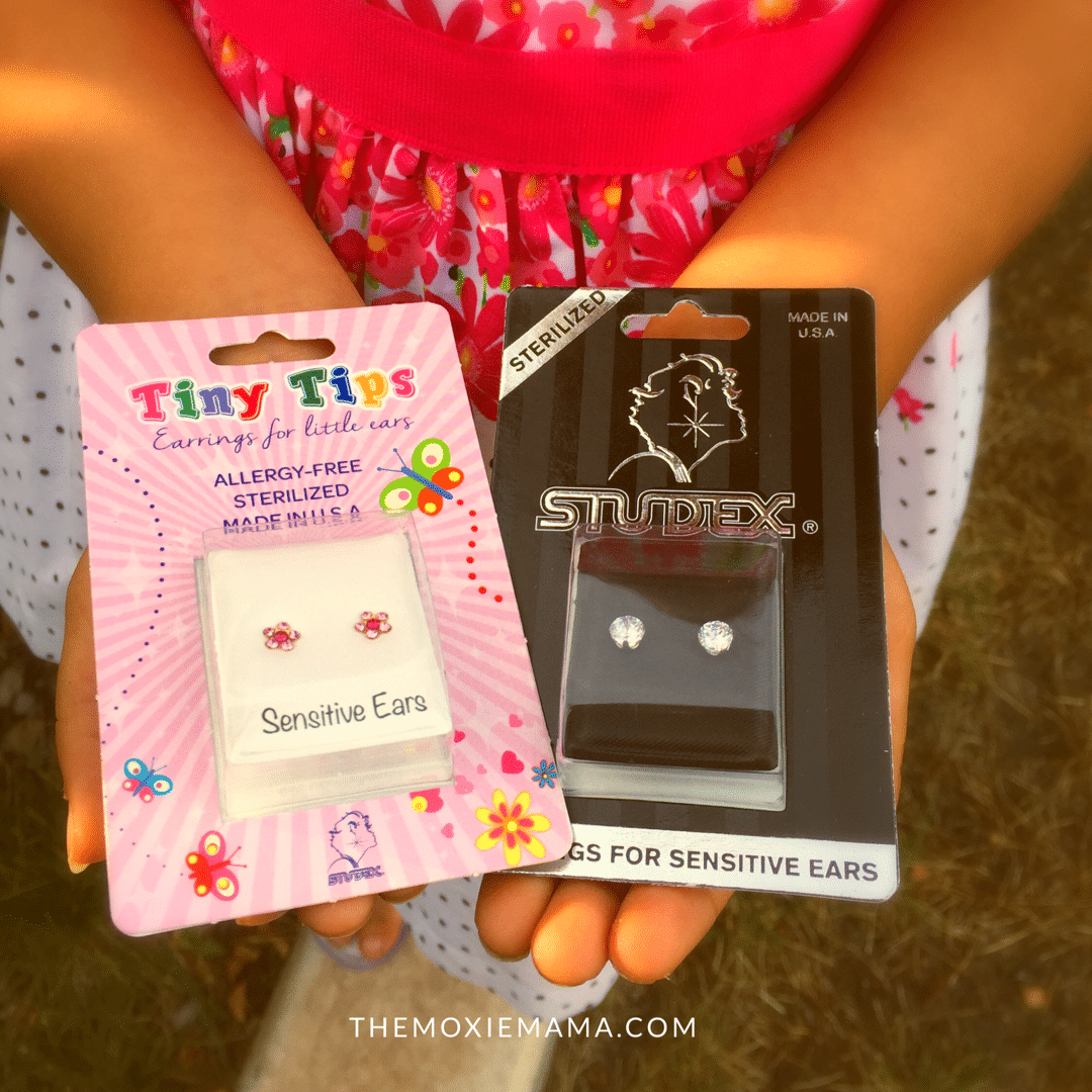 Tiny Tips Earrings Fashion For Babies And Lil Kids Studex Sensitive